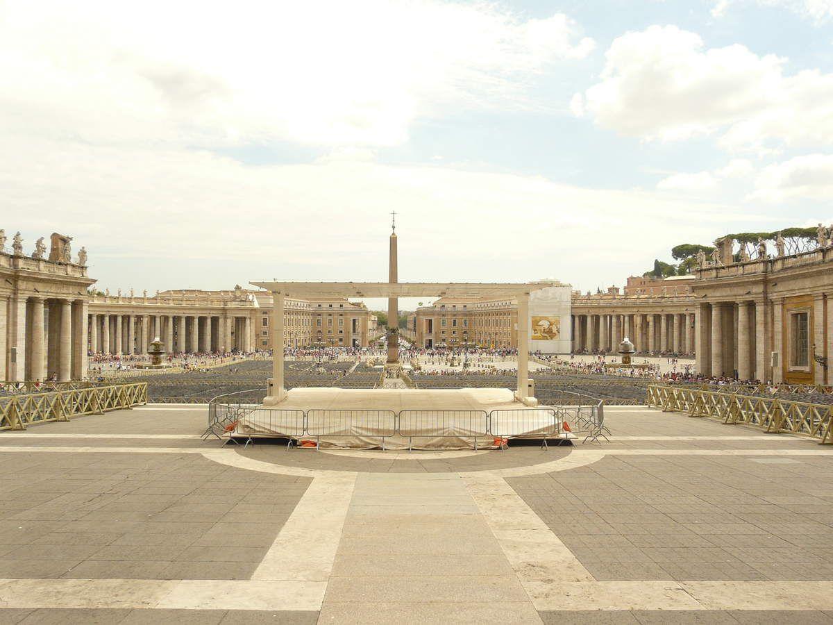 Salade aux ravioli poêlés - Rome (3) le Vatican