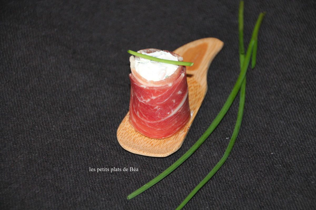 Maki au jambon de Bayonne