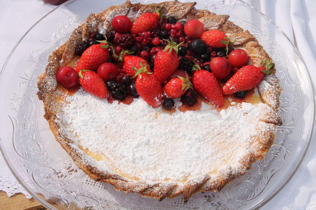 Tarte à la ricotta et aux fruits rouges - Italie les Pouilles (3) les trulli