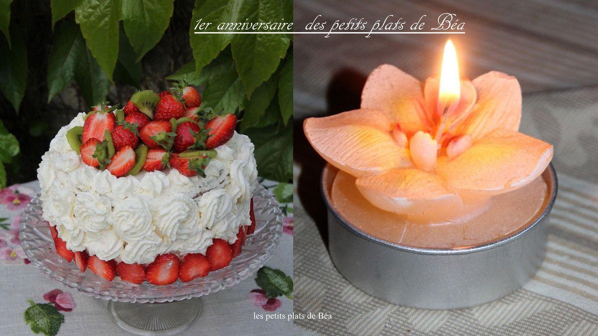 Layer cake au thé matcha, fraises, kiwi