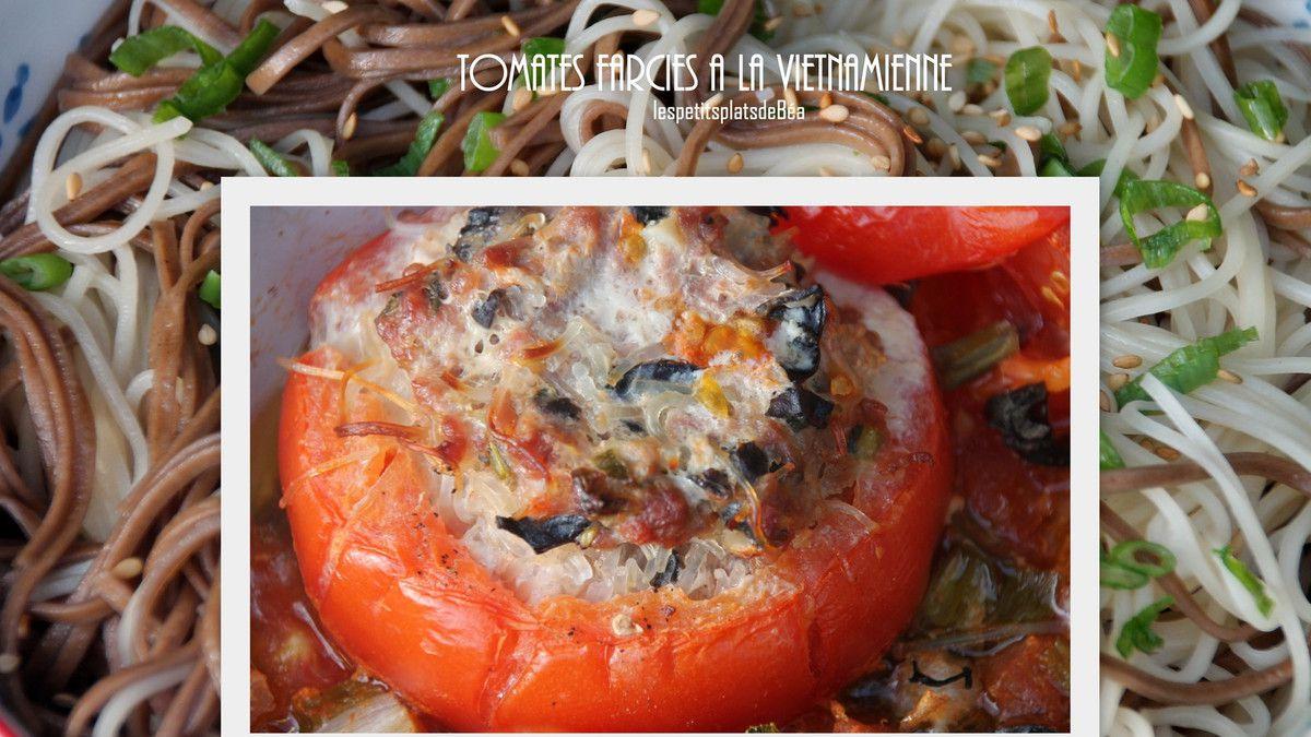 Tomates farcies à la vietnamienne - Vietnam () My Son