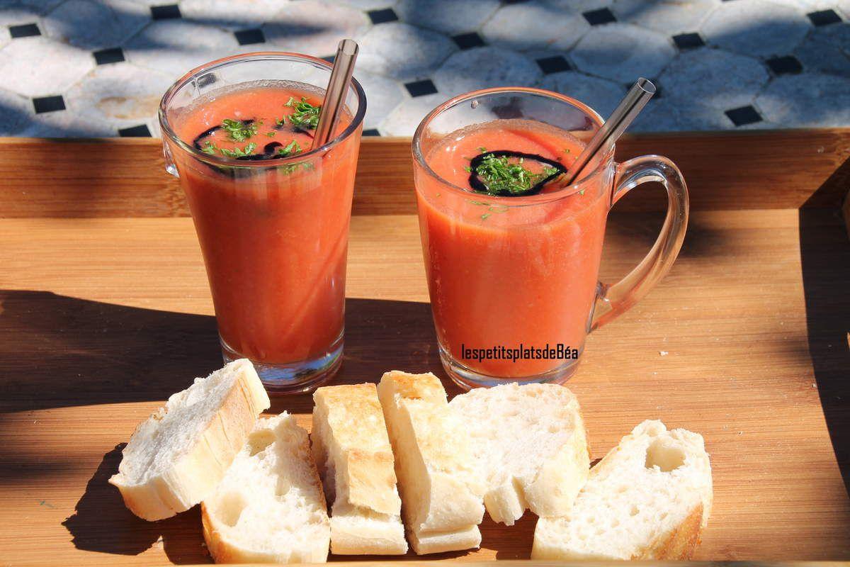 Gaspacho tomate fenouil