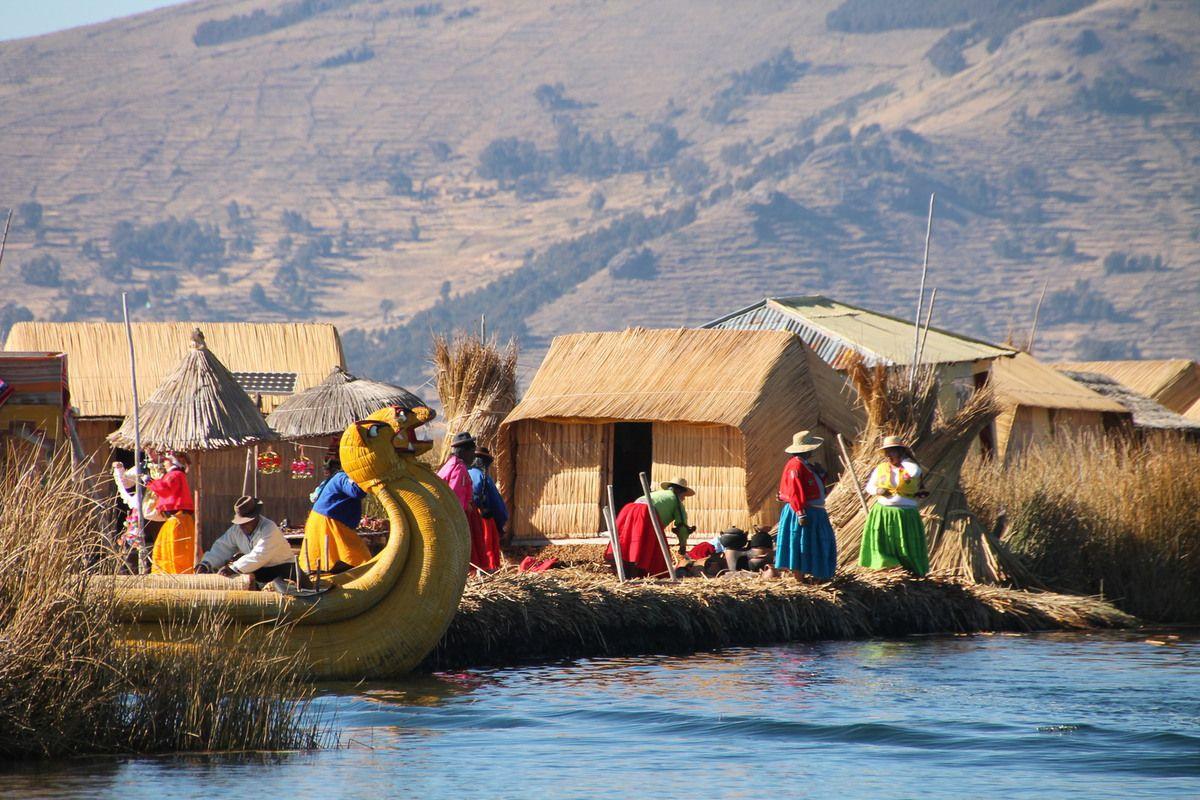 Salade de maïs péruvien - Pérou (6) le lac Titicaca