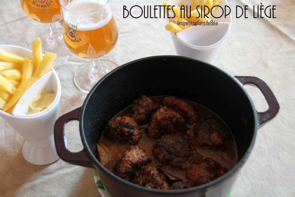 Boulettes au sirop de Liège