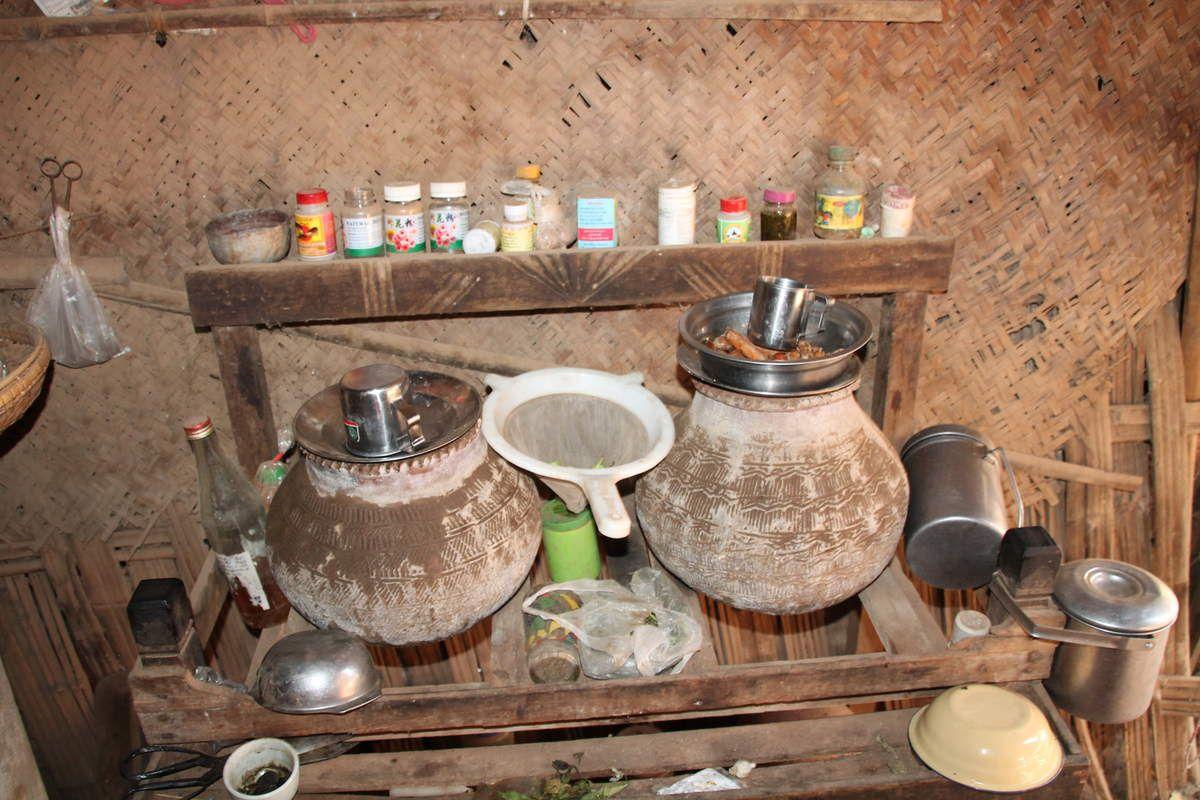 une cuisine de maison paysanne