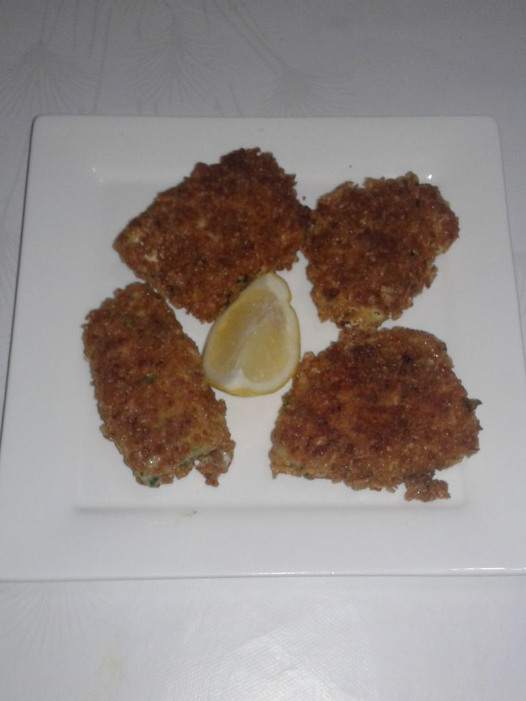 Filets de poisson panée au cereale complete