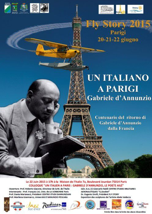 Poster Rotary d'Annunzio