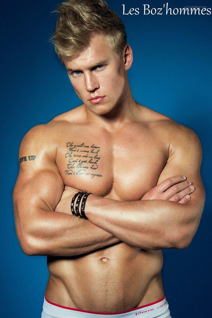 Un blond super mignon, les Boz'hommes