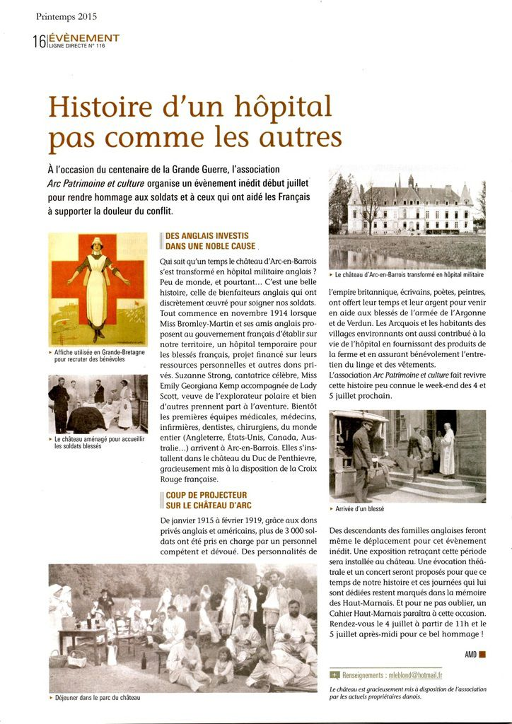 association Arc Patrimoine et culture