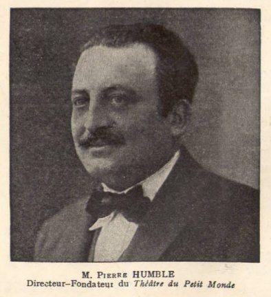 Pierre Humble, directeur fondateur du Théâtre du Petit Monde