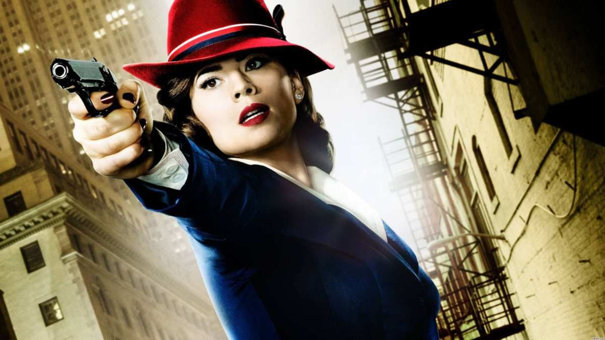 Hayley Atwell, agent(e) Peggy Carter