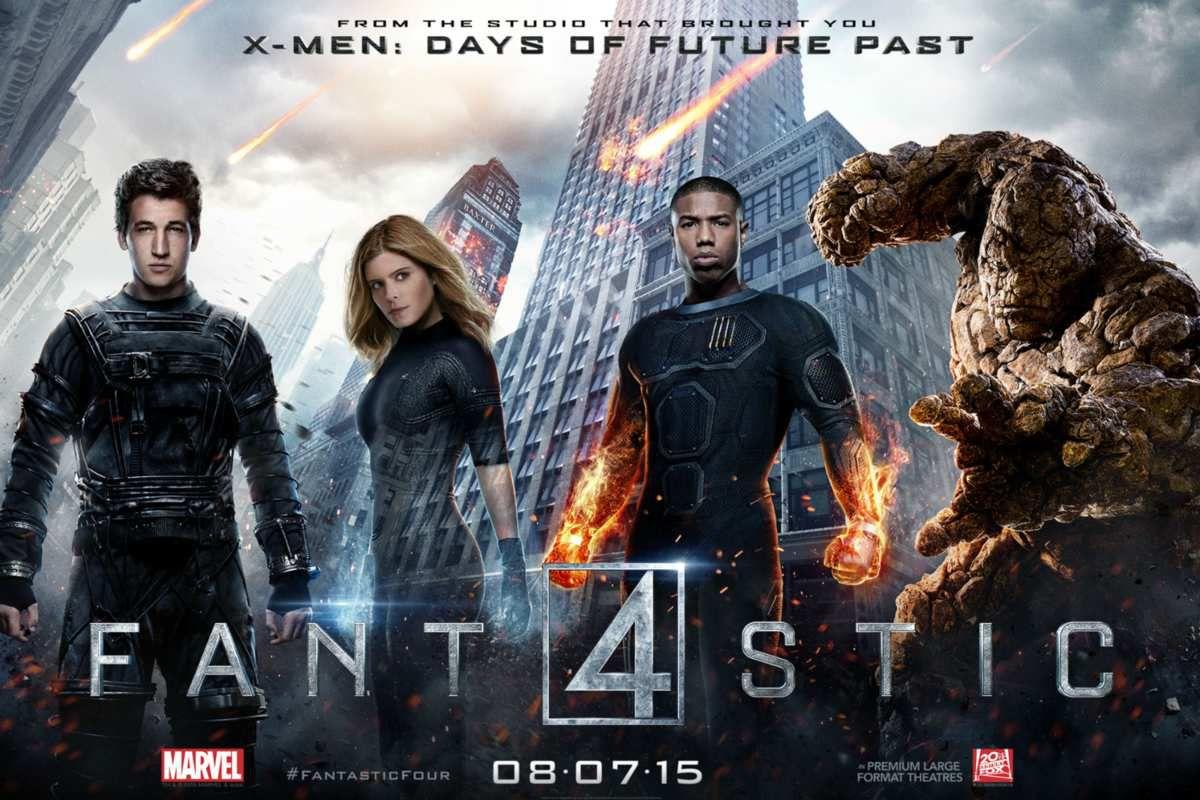 affiche Fantastic Four, image du net