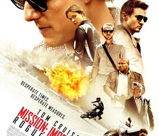 Affiche du film, Mission Impossible: Rogue Nation