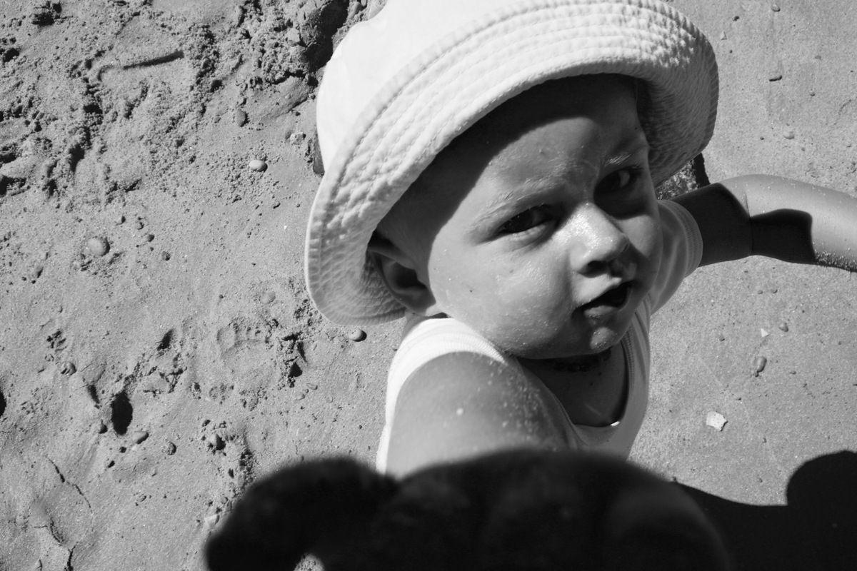 Photo de Jules (et ouf, pas de sable sur l'objectif!)