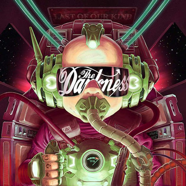 Le Rock fiévreux de The Darkness sur l'album Last Of Our Kind
