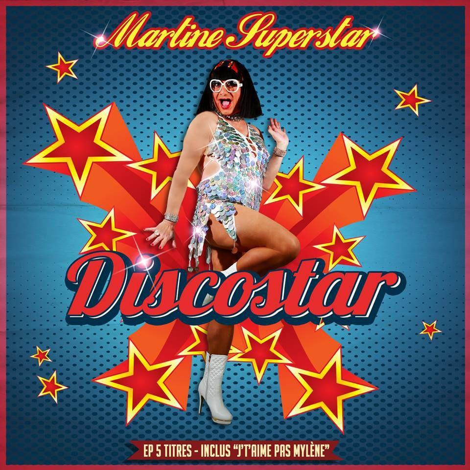 Martine Superstar est une Discostar !