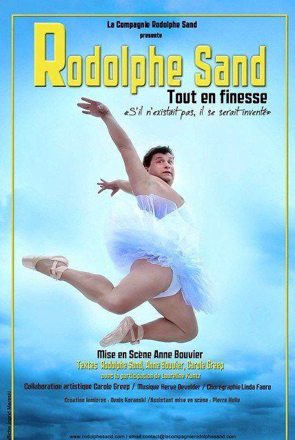 Rodolphe Sand dans Tout En Finesse au Théâtre Mélo D'Amélie, nous y étions !