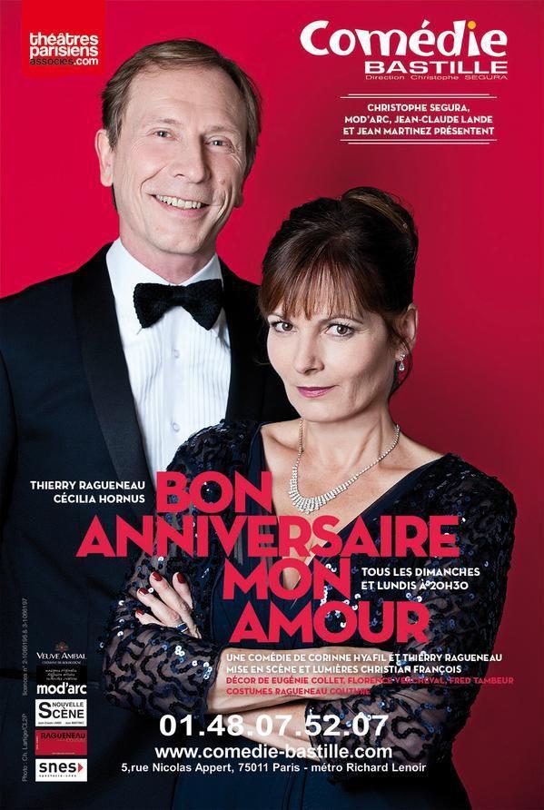 Bon Anniversaire Mon Amour à La Comédie Bastille, nous y étions !