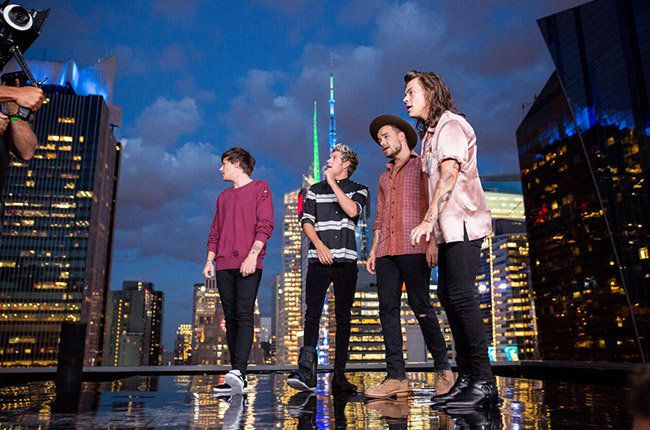 Le groupe One Direction dévoile le clip de Perfect !