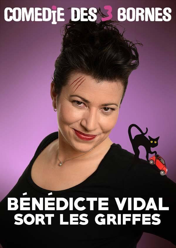 Bénédicte Vidal Sort Les Griffes à La Comédie Des 3 Bornes, nous y étions !