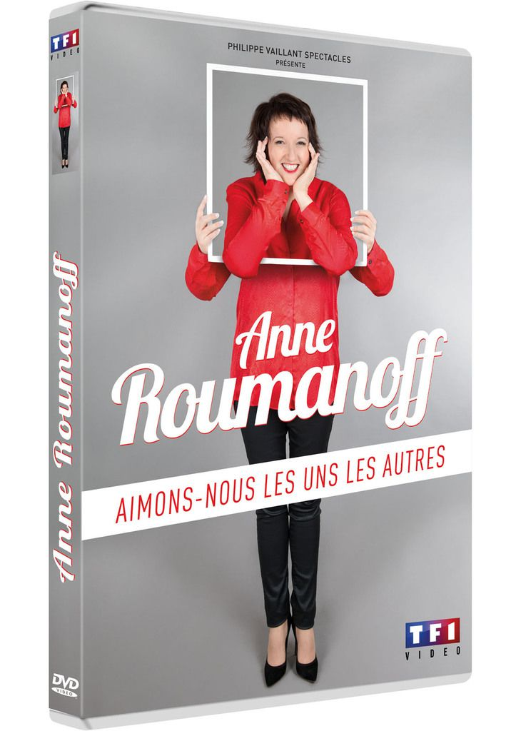 Anne Roumanoff en mode DVD !