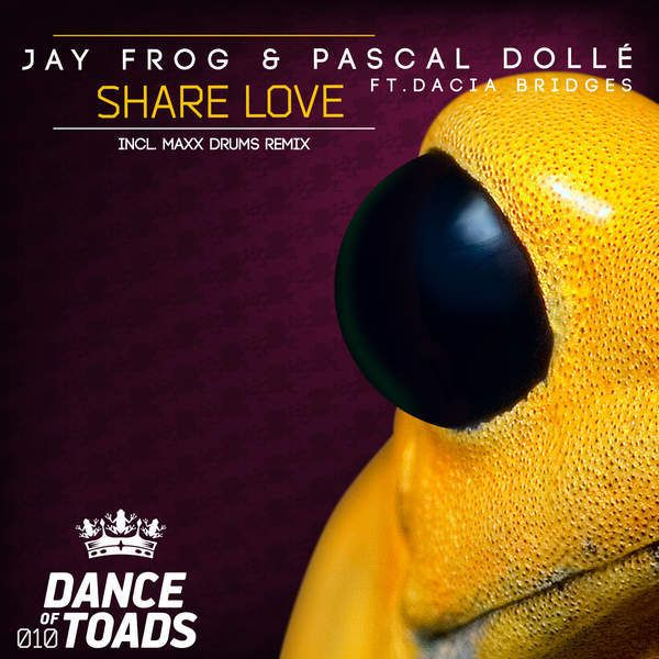 Jay Frog dévoile la bombe electro Share Love !