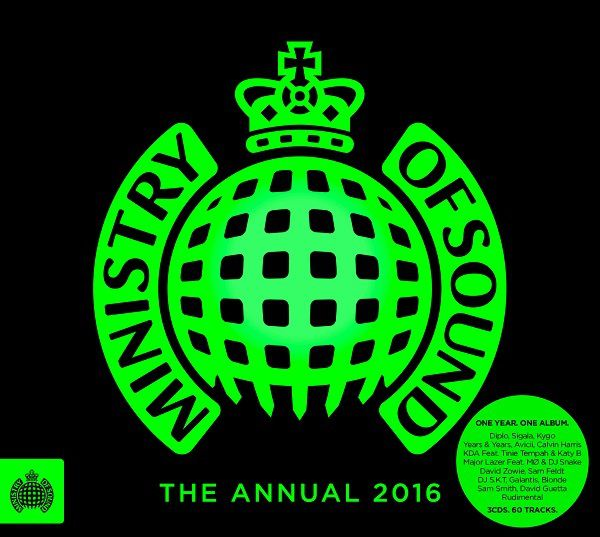 Ministry Of Sound, The Annual 2016 est disponible en Angleterre !