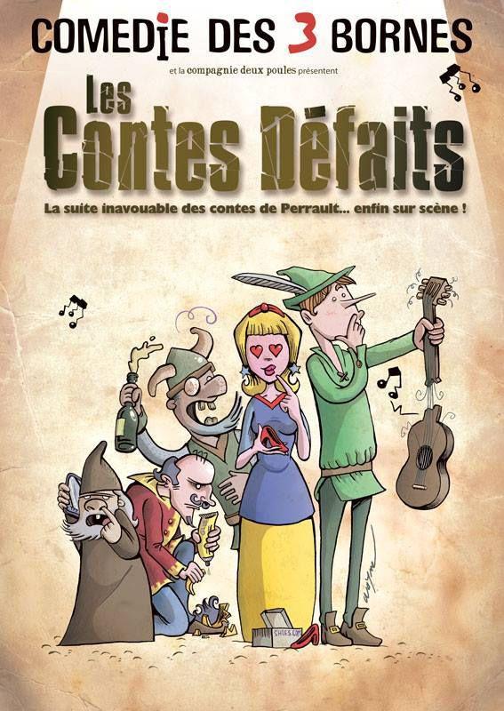 Les Contes Défaits à la Comédie Des 3 Bornes, nous y étions !