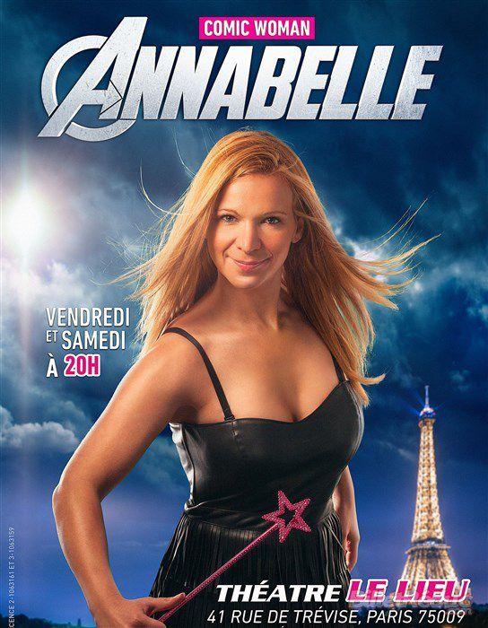 Annabelle est Comic Woman au Théâtre Le Lieu !