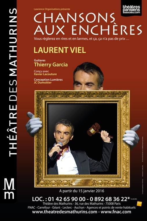 Chansons Aux Enchères au Théâtre Des Mathurins, nous y étions !