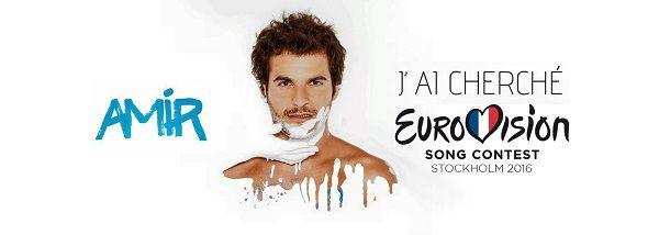 Amir représentera la France à L'Eurovision avec son titre J'Ai Cherché !