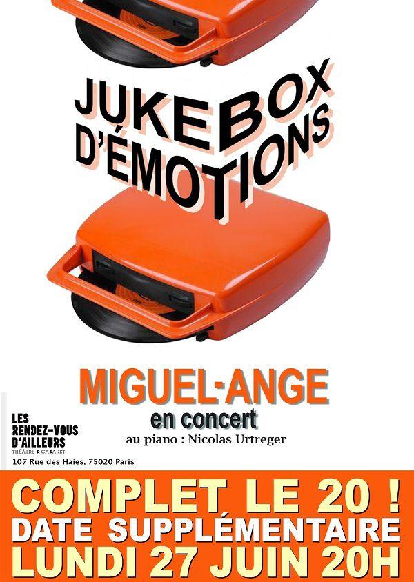 Miguel-Ange en concert avec son « Jukebox D'Emotions » aux Rendez-Vous D'Ailleurs, nous y étions !