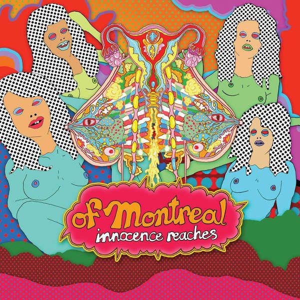 Le groupe Of Montreal dégaine l'acidulé « Innocent Reaches » !