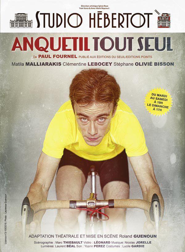 « Anquetil Tout Seul » au Studio Hébertot, nous y étions !