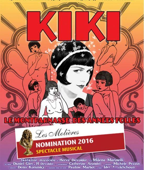« Kiki, Le Montparnasse Des Années Folles » au Théâtre Essaïon, nous y étions !