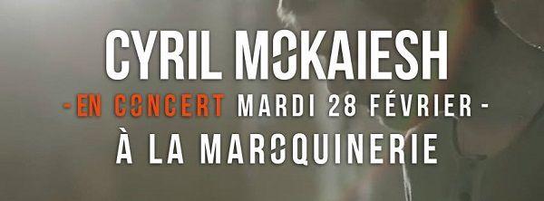 « Je Fais Comme Si » un nouveau single pour Cyril Mokaiesh, J-1 avant le concert à Paris !
