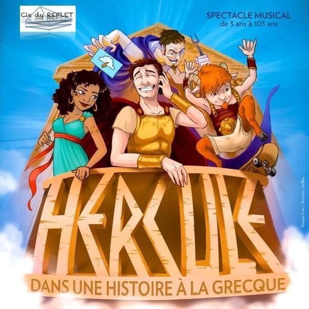 « Hercule Dans Une Histoire A La Grecque » au Théâtre Trévise, nous y étions !