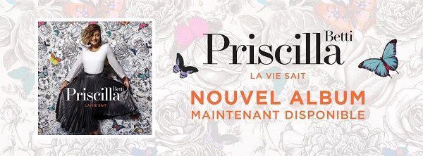 Nous avons écouté le nouvel album de Priscilla Betti !