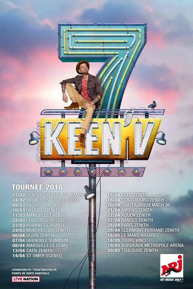 « Un Métier Sérieux » est le nouveau single de Keen'V !
