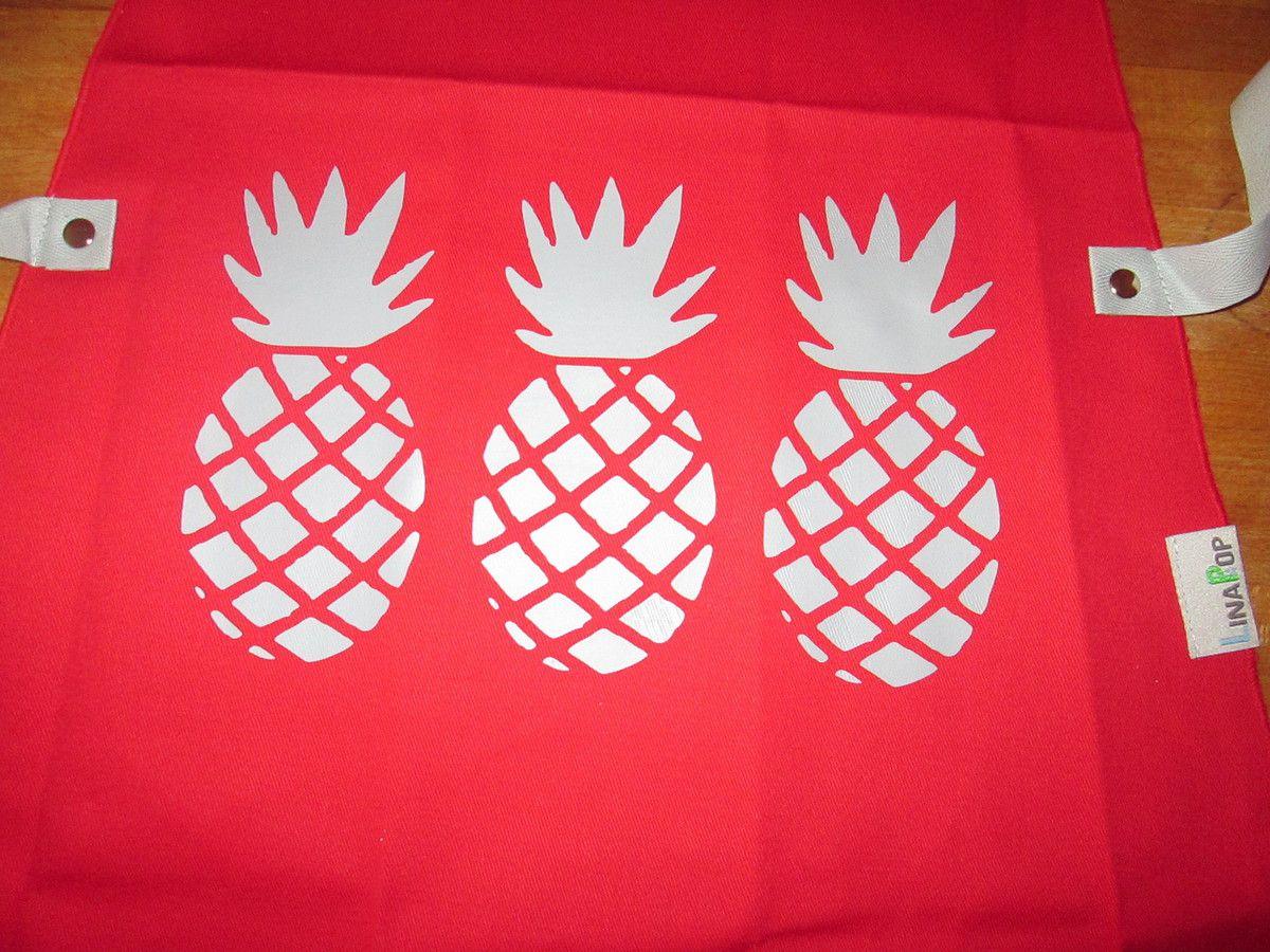 Voici le test du tablier de cuisine motif ananas