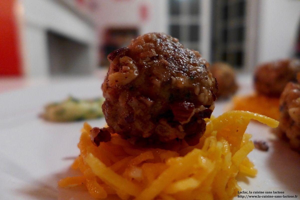 Repas d'un soir #15 : Boulettes de Porc aux Noix et Noisettes!