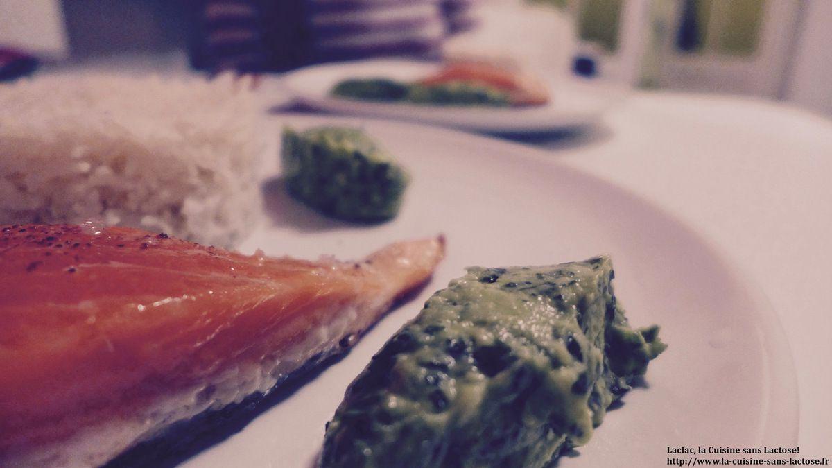 Repas d'un soir #17 : Saumon cuit à l'unilatéral et sauce à l'avocat!