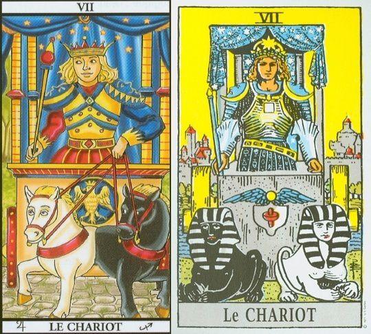 Les Arcanes Majeurs du Tarot (significations endroit/envers)