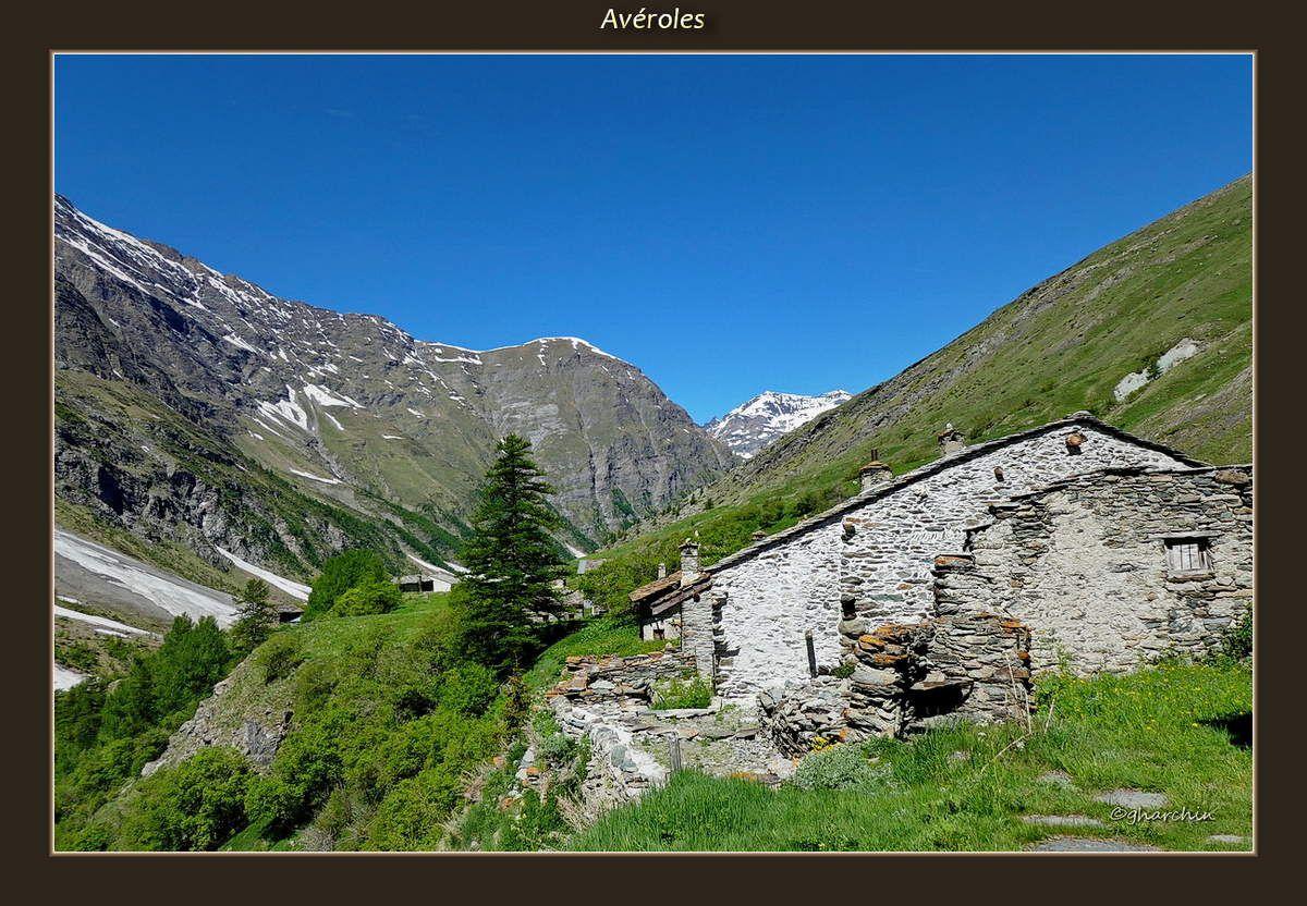 Sur la Route de l'Iseran, la vallée d'Avérole