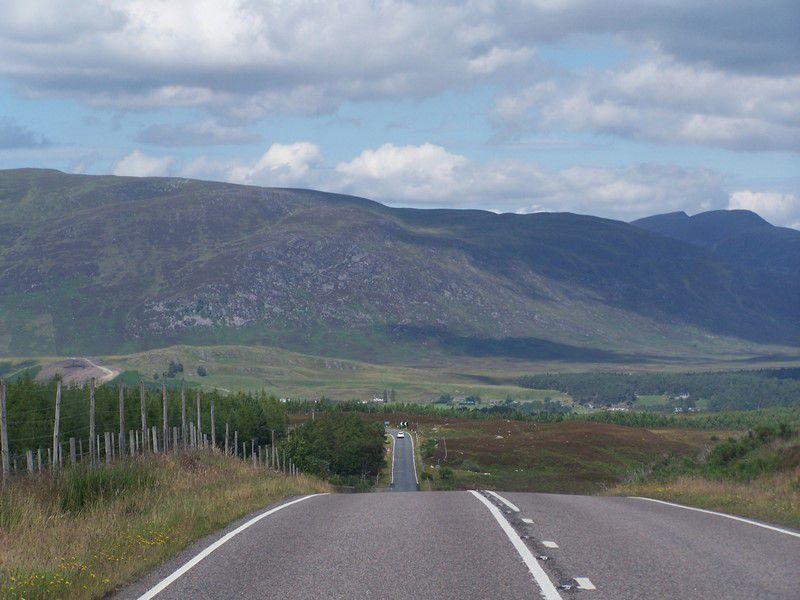 Les Highlands se profilent