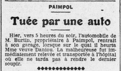 Un ancien Juge de Paix, maladroit, quand même.... (in Ouest-Eclair 18 janvier 1914)