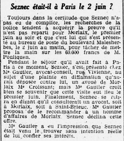 """in Ouest-Eclair du 3 juillet 1923. """"Je te tiens, tu me tiens par la barbichette...."""""""