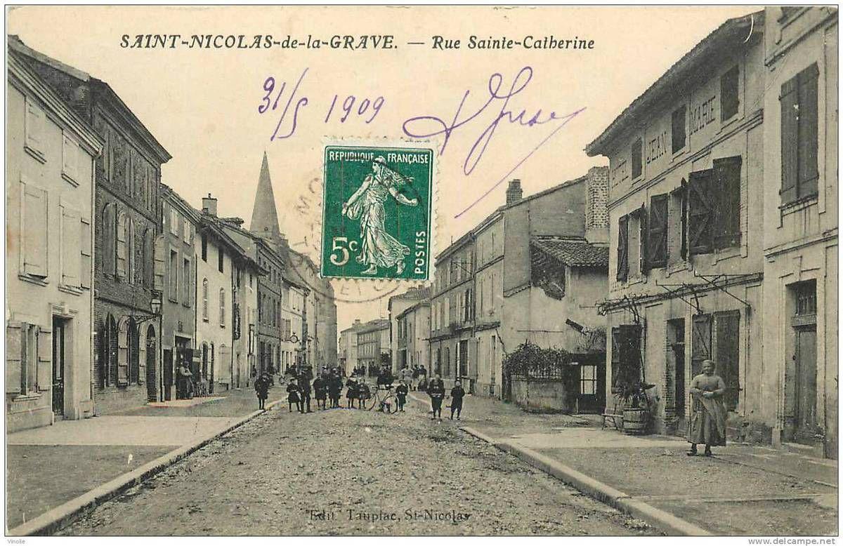 Tarn-et-Garonne. Saint-Nicolas-de-la-Grave.