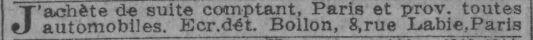 in Le Journal du 27 janvier 1917.