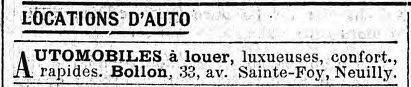 in Le Figaro du 29 mars 1919.